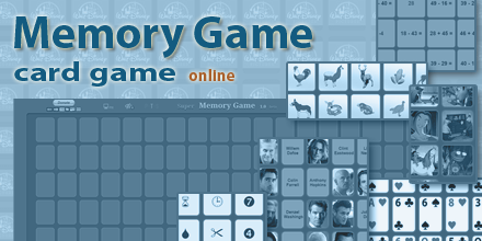Memory Game (card game) - online